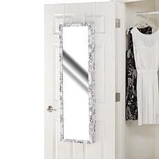 "Over-the-Door 48"" Jewelry Armoire with Mirror"