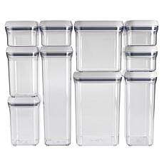 OXO Good Grips White 10-piece POP Container Set