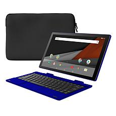 "Packard Bell 10"" 32GB Quad-Core Android Tablet with Keyboard & Sleeve"