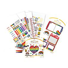 Paper House River & Ink Pride Planner Embellishment Bundle