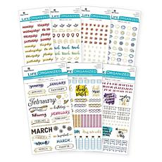 Paper House Ultimate Bullet Journaling Sticker Set