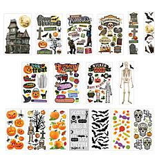 Paper House Ultimate Halloween Paper Crafting Sticker Bundle