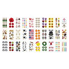 Paper House Year Round Seasonal and Occasion Sticker Set
