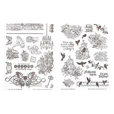 Paper Wishes Birds and Butterflies Stamp Set