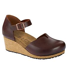 Papillio by Birkenstock Mary Leather Wedge Pump