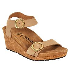 Papillio by Birkenstock Soley Leather Wedge Sandal