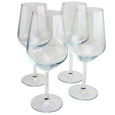 Pasabahce Allegra 4 Piece 16.5 oz Red Wine Glass Set