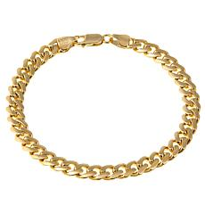 "Passport to Gold 14K Yellow Gold Curb-Link 8-1/2"" Bracelet"