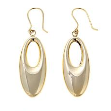 Passport to Gold 14K Yellow Gold Oval Drop Earrings