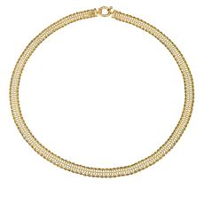 Passport to Gold Infinity Rope Necklace