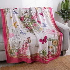 Patricia Altschul Luxe Royal Garden Throw