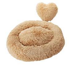 Patricia Altschul Medium Pet Bed with Heart Pillow
