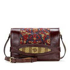 Patricia Nash Alanno Leather Beaded Crossbody