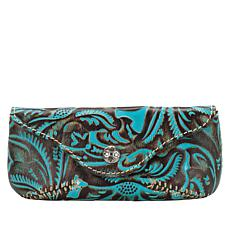 Patricia Nash Ardenza Tooled Leather Sunglass Case