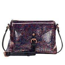 Patricia Nash Avellino Printed Leather Crossbody Bag