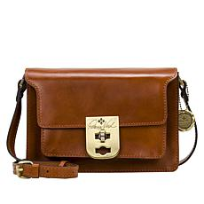 Patricia Nash Bailey Leather Three-Compartment Crossbody