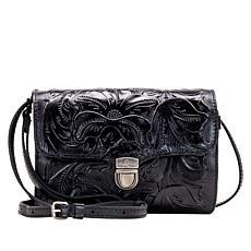 Patricia Nash Bianco Tooled Leather 3-Way Organizer