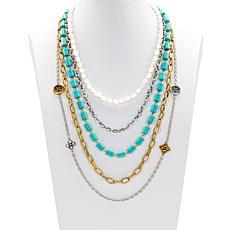 Patricia Nash Charm Collection 5-piece Modular Necklace Set
