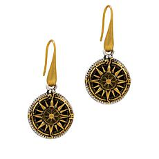 Patricia Nash Compass Drop Earrings