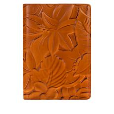 Patricia Nash Floral-Debossed Leather Vinci Journal