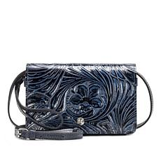 Patricia Nash Francia Tooled Leather Crossbody