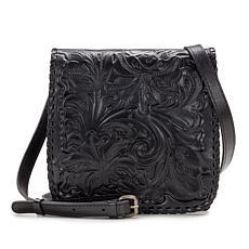 Patricia Nash Granada Tooled Leather Crossbody Bag