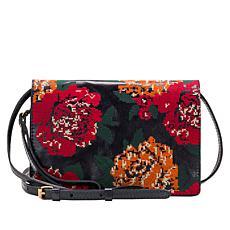 Patricia Nash Lanza Leather Crossbody Organizer Bag