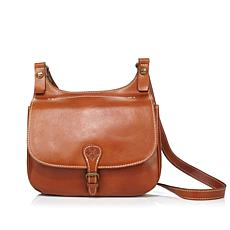 Patricia Nash London Leather Saddle Bag