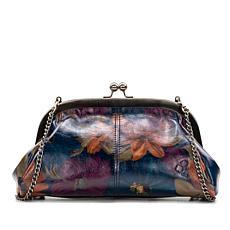 Patricia Nash Mia Leather Frame Satchel