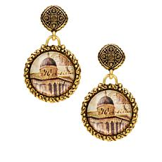Patricia Nash National Gallery Filigree Drop Earrings