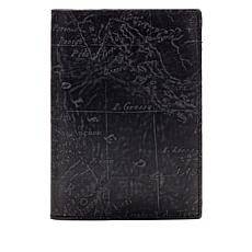 Patricia Nash Peretola Leather Map Passport Case with RFID