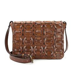 Patricia Nash Positano Leather Chain Crossbody Bag