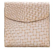 Patricia Nash Reiti Leather Frame Wallet with RFID  Protection