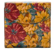 Patricia Nash Reiti Leather Fresco Bouquet Wallet with RFID Protect...