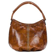 Patricia Nash Riano Leather Map Hobo