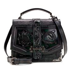 Patricia Nash Stella Tooled Leather Shoulder Bag