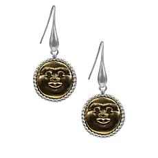 Patricia Nash Sunface Drop Earrings