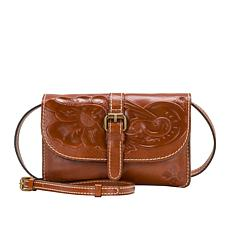 Patricia Nash Torri Leather Crossbody Organizer
