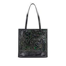 Patricia Nash Toscano Tooled Leather Tote