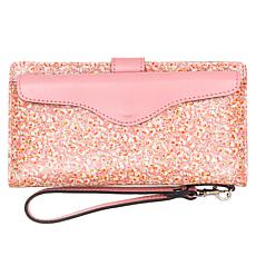 Patricia Nash Valentia II Leather Wristlet Wallet