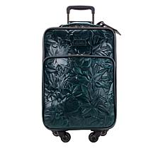 """Patricia Nash Vettore Leather 22"""" Wheeled Trolley Bag"""