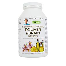 PC Liver and Brain Benefits - 360 Capsules