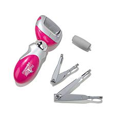 PedEgg Powerball™ Callus Remover Set with Extra Roller