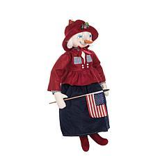 Pennie Snow Girl Figurine