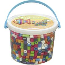 Perler 1,200-count Biggie Beads Bucket - Assorted Colors