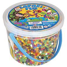 Perler Bead Safari Fun Activity Bucket
