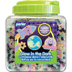 Perler Fused Beads 11,000-pack - Glow In The Dark