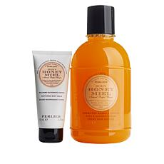 Perlier 2-piece Honey and Body Cream Set