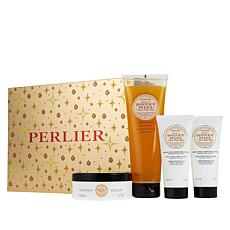 Perlier Honey 4-Piece Holiday Set