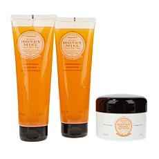 Perlier Honey & Orange 3-piece Kit